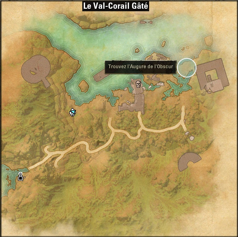carte de l'antre val corail gate
